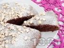 Рецепта Лесен какаов кекс с масло и пудра захар